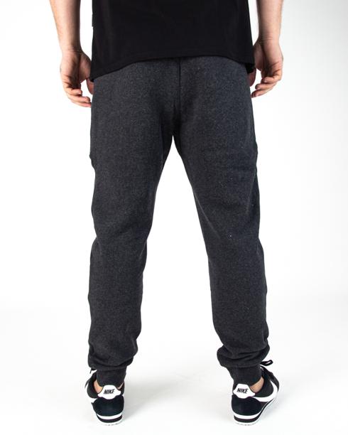 Spodnie Dresowe Pitbull Small Logo Charcoal Melange
