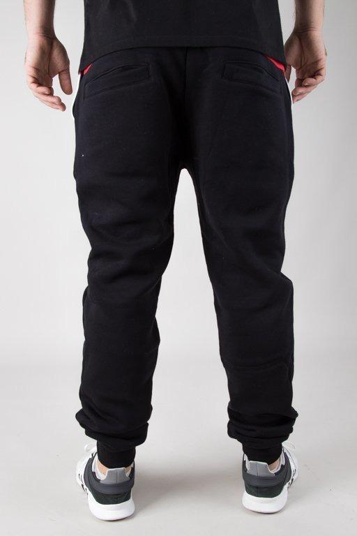 Spodnie El Polako Dresowe Fit Black