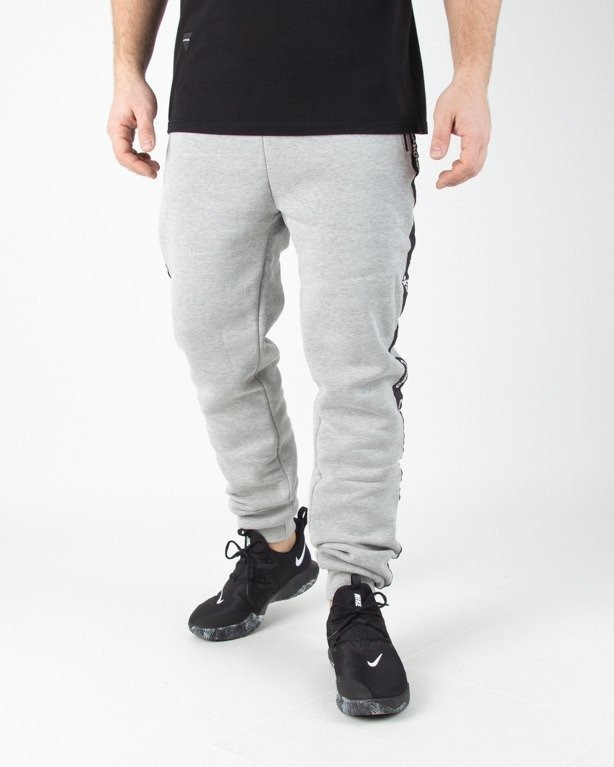 Spodnie El Polako Dresowe Fit Ep Belt Melange