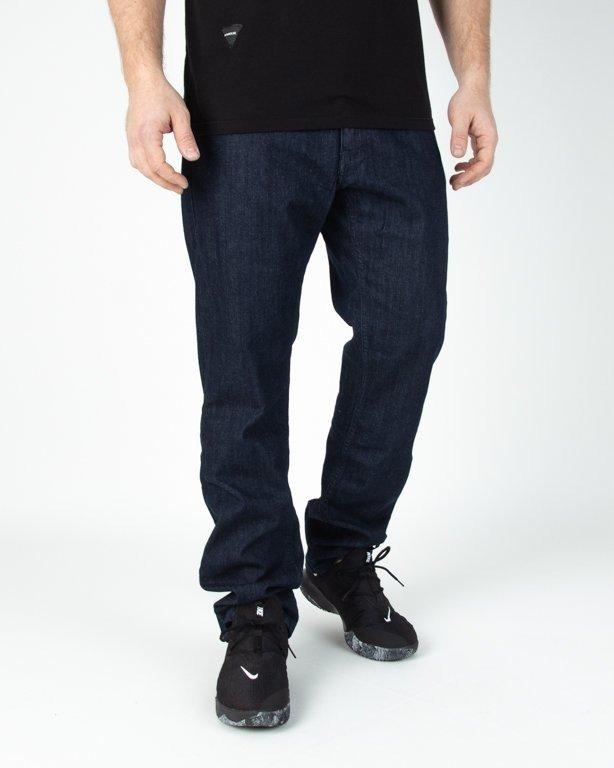 Spodnie El Polako Jeansowe Slim Cut Colors Dark