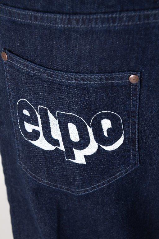 Spodnie El Polako Jeansy Baggy 3d Dark