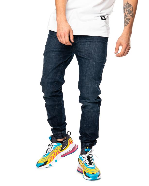 Spodnie Jeans Jogger Proceder Ciemnoniebieskie
