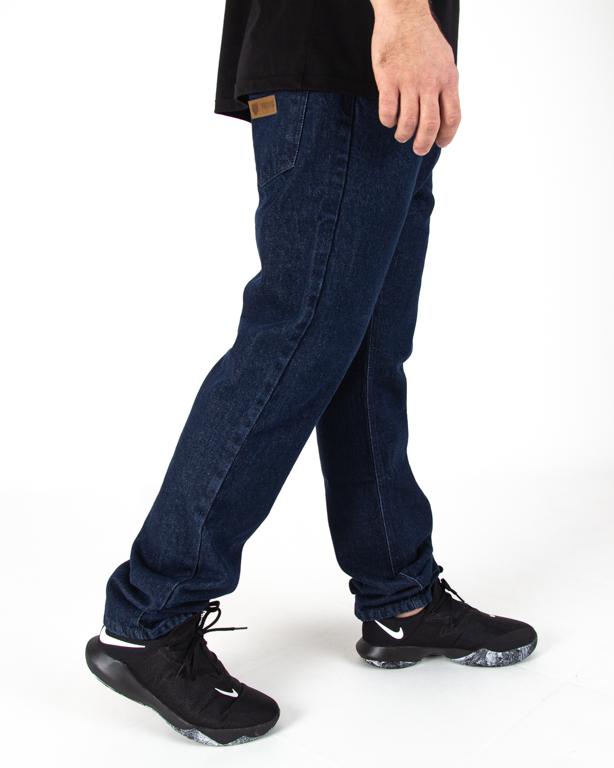 Spodnie Jeans Prosto Regular Rind Navy