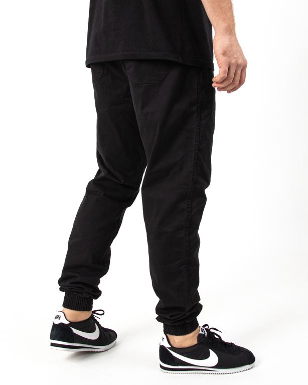Spodnie Jogger Bor Fit Chino Black