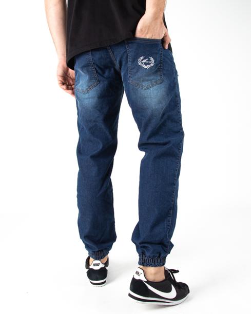 Spodnie Jogger Moro Paris Laur Pocket Damage Wash Jeans
