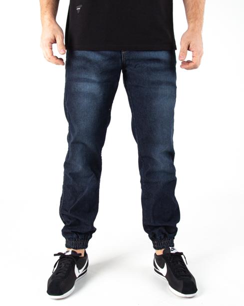 Spodnie Jogger Moro Paris Laur Pocket Mustache Wash Jeans