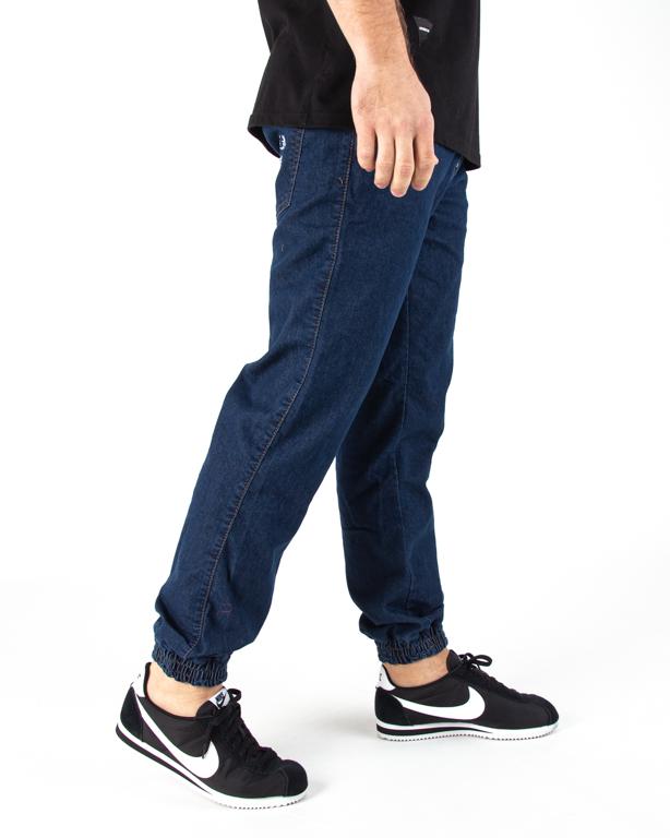 Spodnie Jogger Moro Paris Laur Pocket Średnie Pranie Jeans