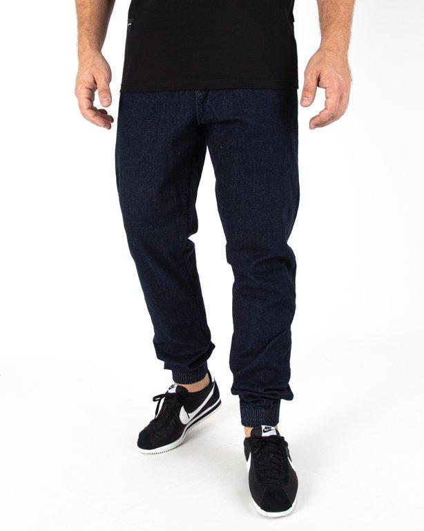 Spodnie Jogger Ssg Jeans Haft Slim Dark