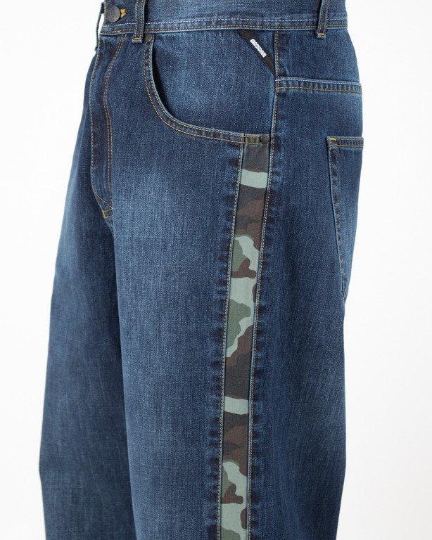 Spodnie Mass Jeansy Baggy Shelter Dark