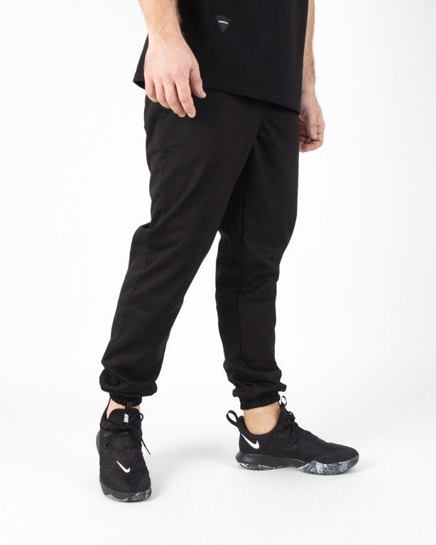 Spodnie Moro Chino Joggery Form Pocket Black