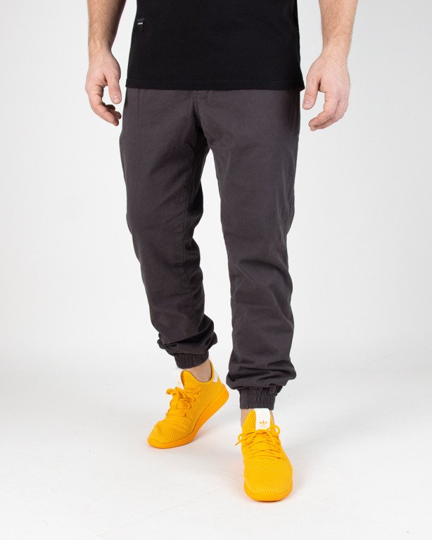 Spodnie New Bad Line Chino Jogger Icon Grey