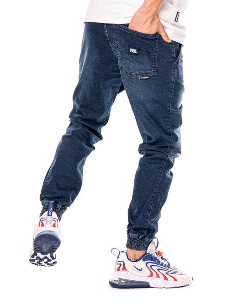 Spodnie New Bad Line Jeansy Jogger Nbl Medium Wycierane