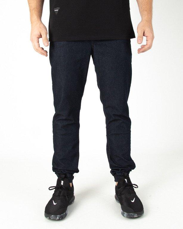 Spodnie Patriotic Jeans Jogger Laur Pelt Navy