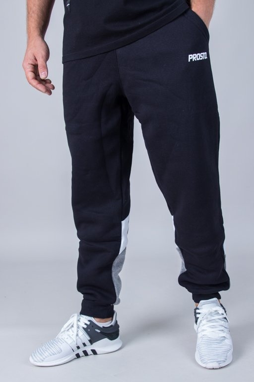 Spodnie Prosto Dresowe True Calf Black