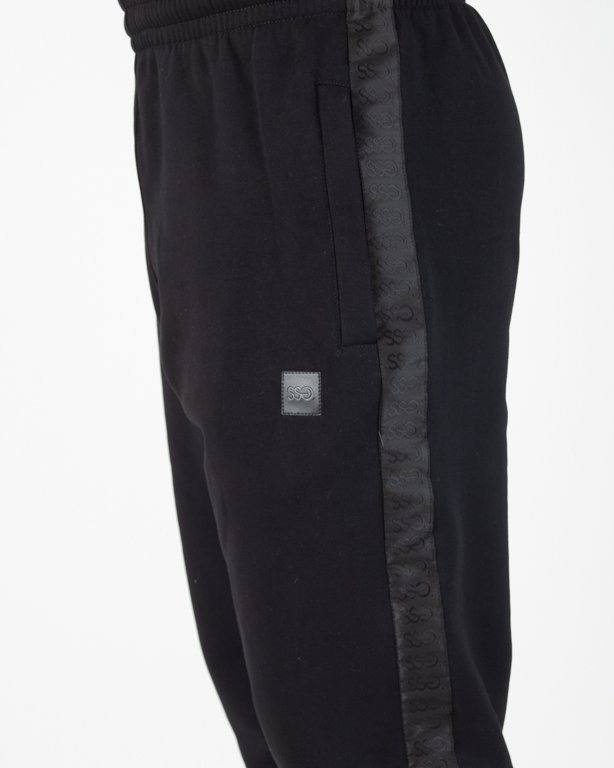 Spodnie SSG Dresowe Jogger Lampas Black