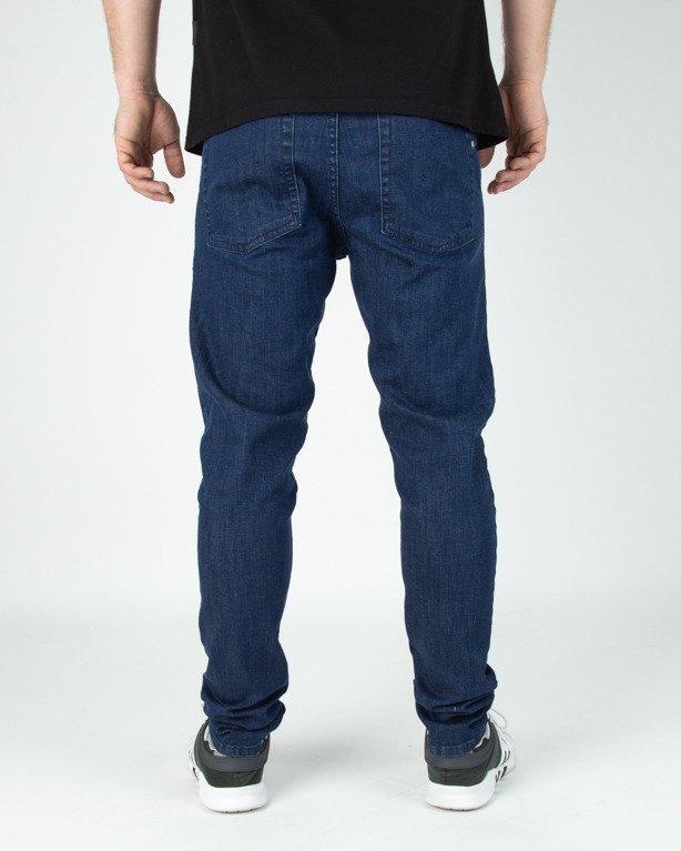 Spodnie SSG Jeansy Skinny Guma Medium
