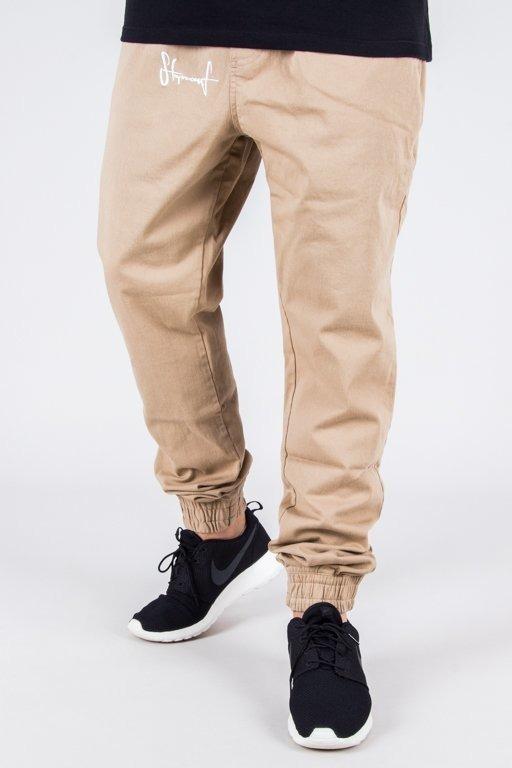 Spodnie Stoprocent Chino Jogger Classic Beige