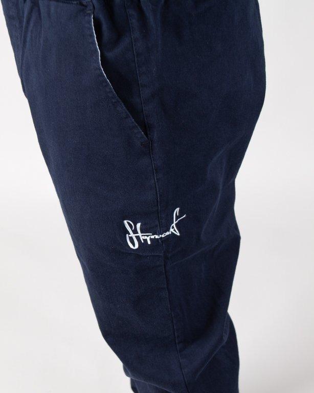 Spodnie Stoprocent Chino Jogger Classic Navy