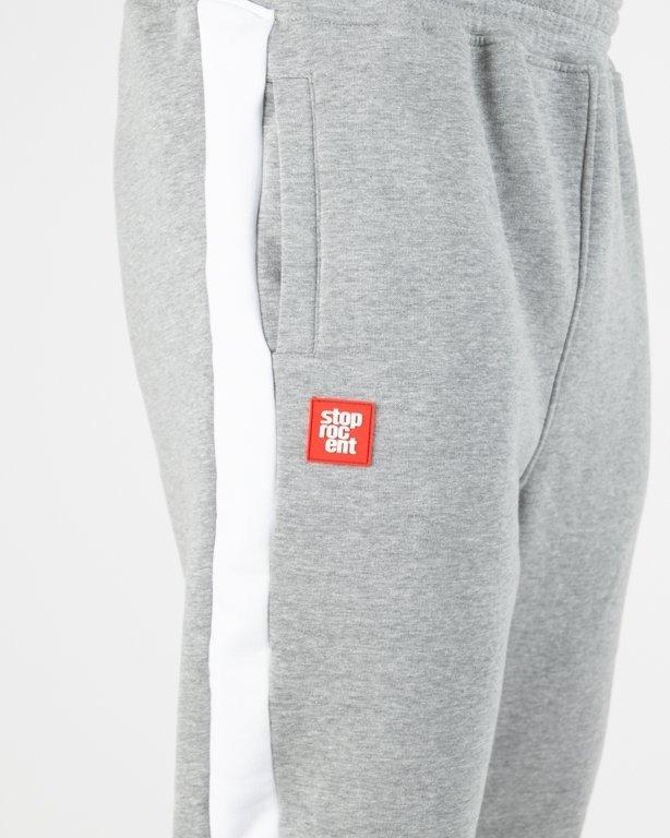 Spodnie Stoprocent Dresowe Pasen Melange