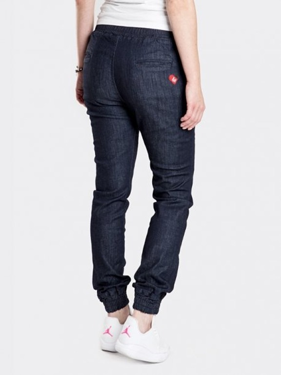 Spodnie Stoprocent Jeans Jogger Woman Highjogger Dark