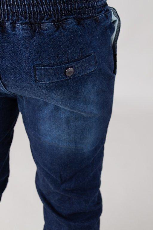 Spodnie Stoprocent Jeansy Jogger Classic Dark