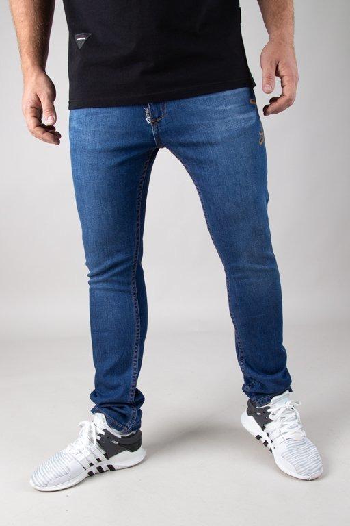 Spodnie Stoprocent Jeansy Slim Slicetag Light Blue