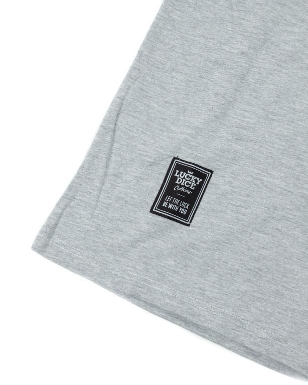 T-shirt  Damski Lucky Dice Classic Melange