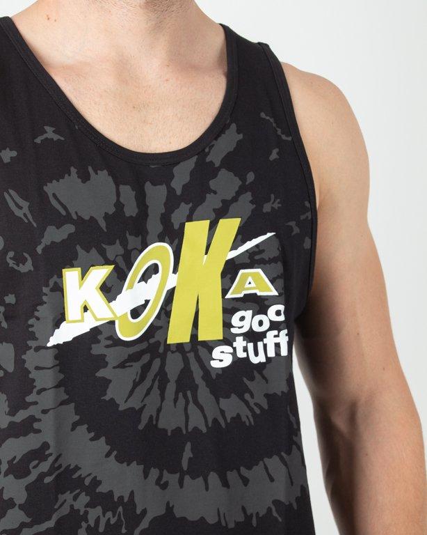 Tank Top Koka Fake Dye Black