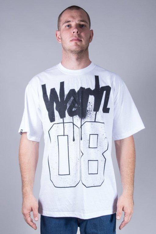 WSRH T-SHIRT SPRAY WHITE-BLACK